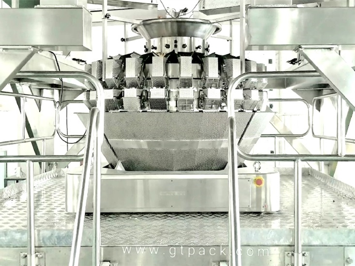 nuts mixing weigher